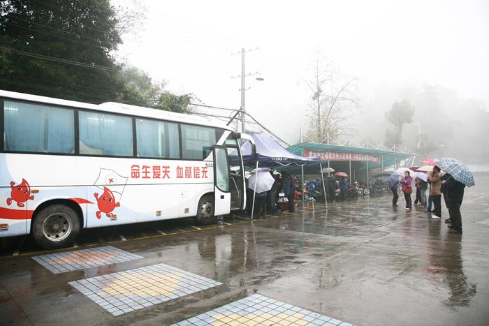 中南裝備協助宜昌市中心血站開展獻血活動
